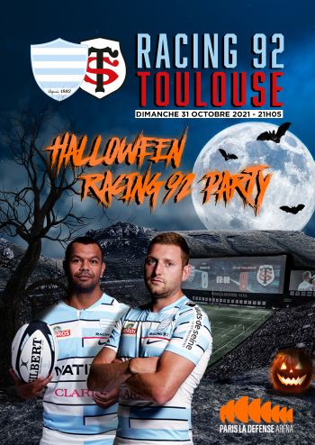 Racing92-Toulouse-Halloween-party