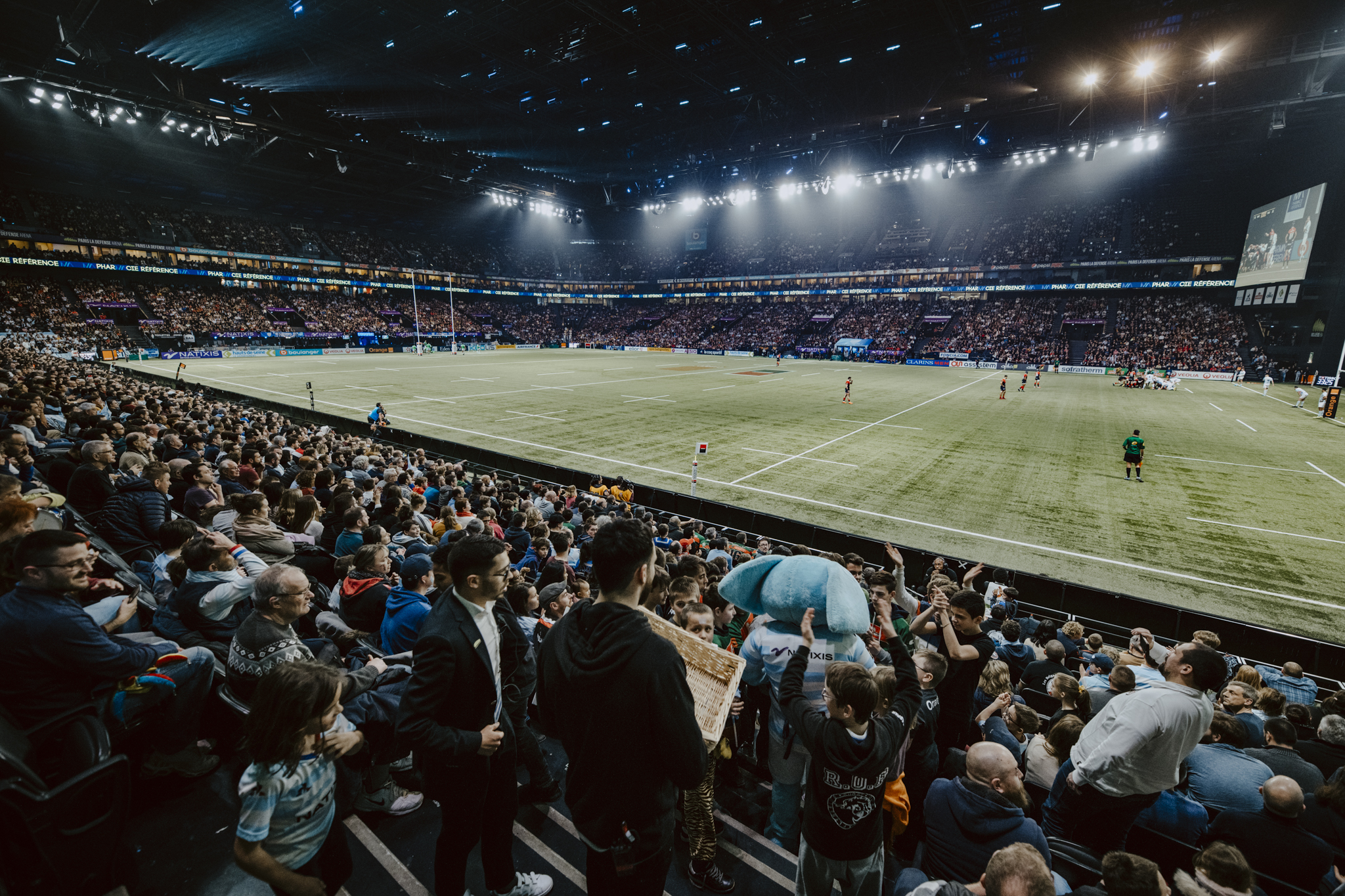 Racing 92 reçoit Bordeaux à Paris La Défense Arena samedi 23 janvier lors de la 19e journée de Top 14.