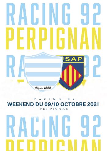 Racing 92-Perpignan à Paris La Défense Arena