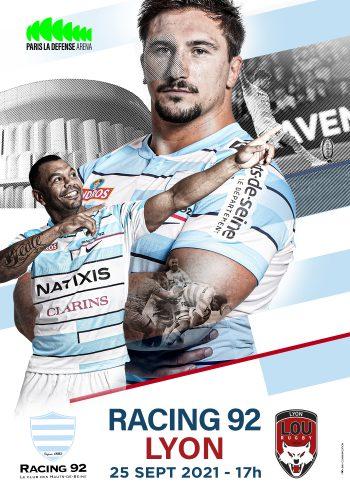 Racing 92-Lyon à Paris La Défense Arena