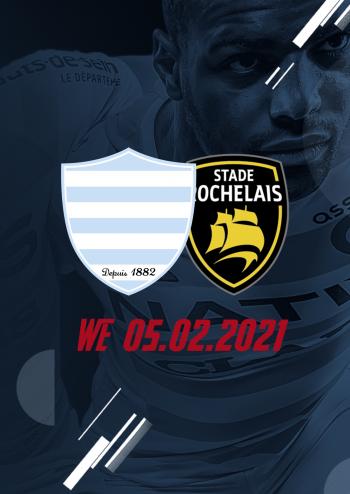 Racing 92 reçoit La Rochelle à Paris La Défense Arena le week-end du 5 février lors de la 14e journée de Top 14.