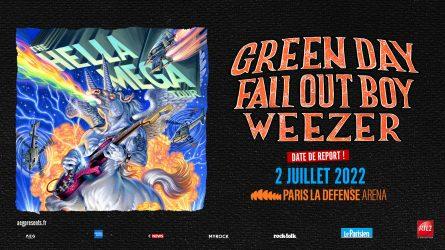 Affiche du concert du Hella Mega Tour à Paris La Défense Arena
