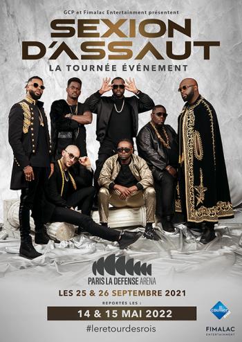 Les concerts de Sexion d'Assaut à Paris La Défense Arena