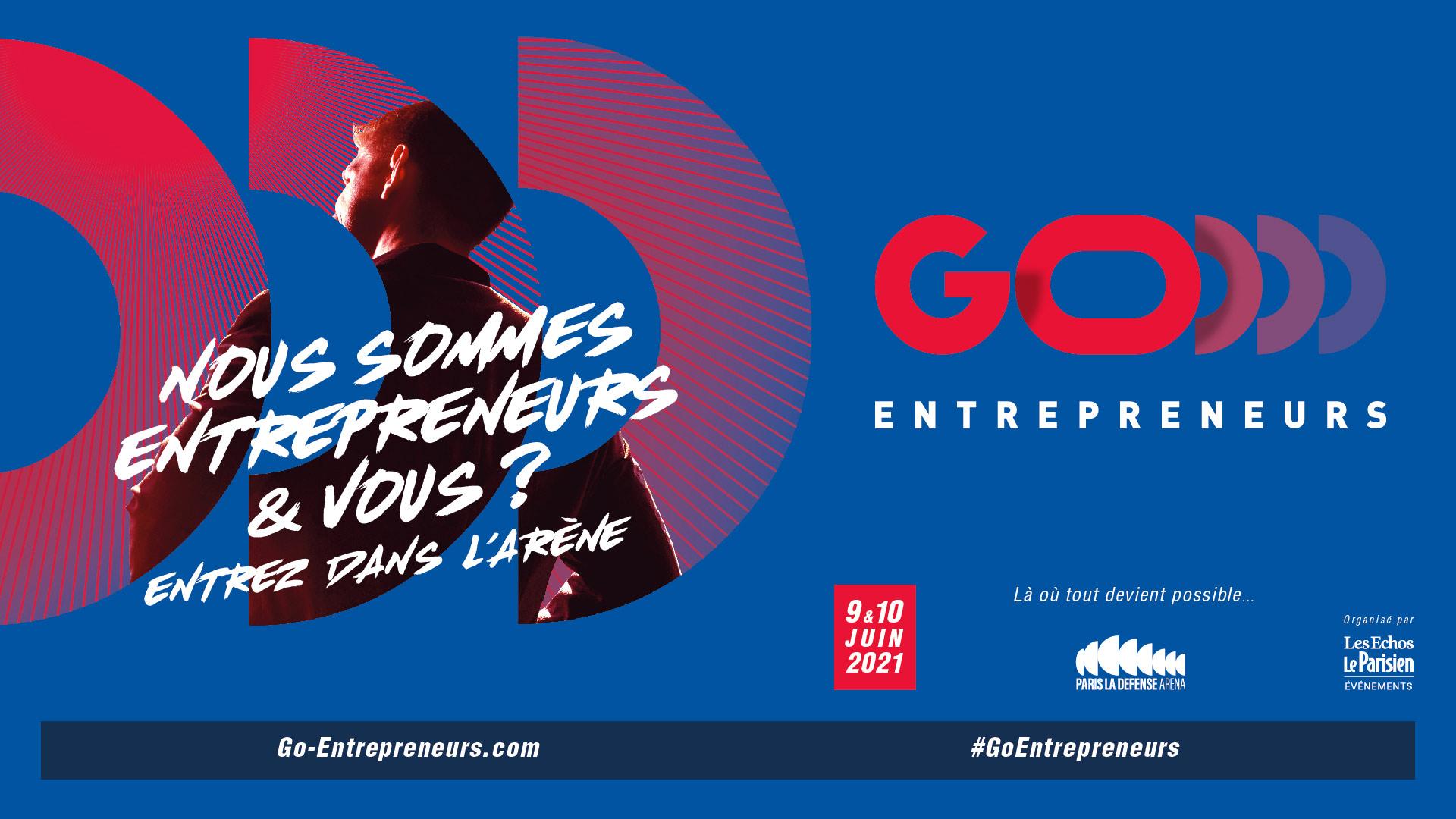 Go Entrepreneurs remplace Salon des Entrepreneurs avec date inédite à Paris La Défense Arena en juin