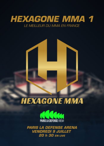 HEXAGONE MMA à Paris La Défense Arena