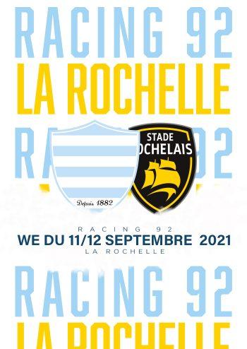 Racing 92-La Rochelle à Paris La Défense Arena